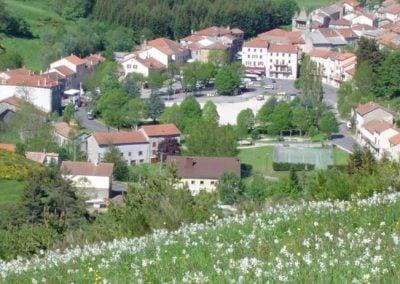 Vue sur Saint-Cirgues-en-Montagne