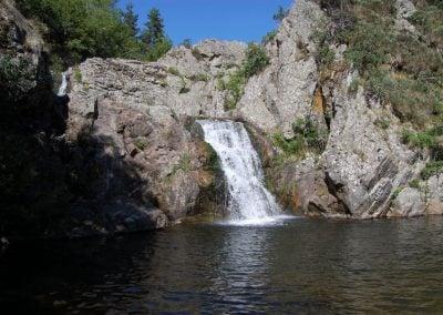 Cascade sur le Tauron