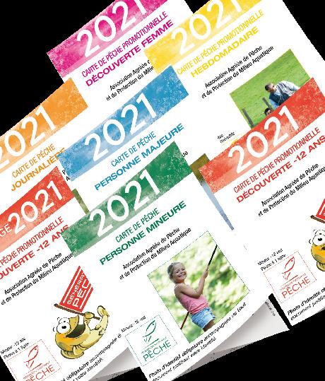 Carte de pêche Ardèche 2021